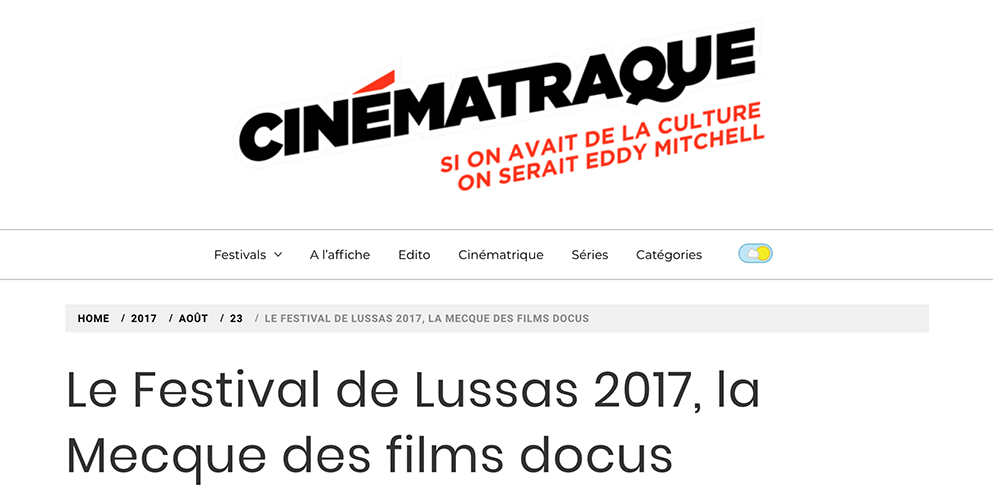 CINEMATRAQUE Lire